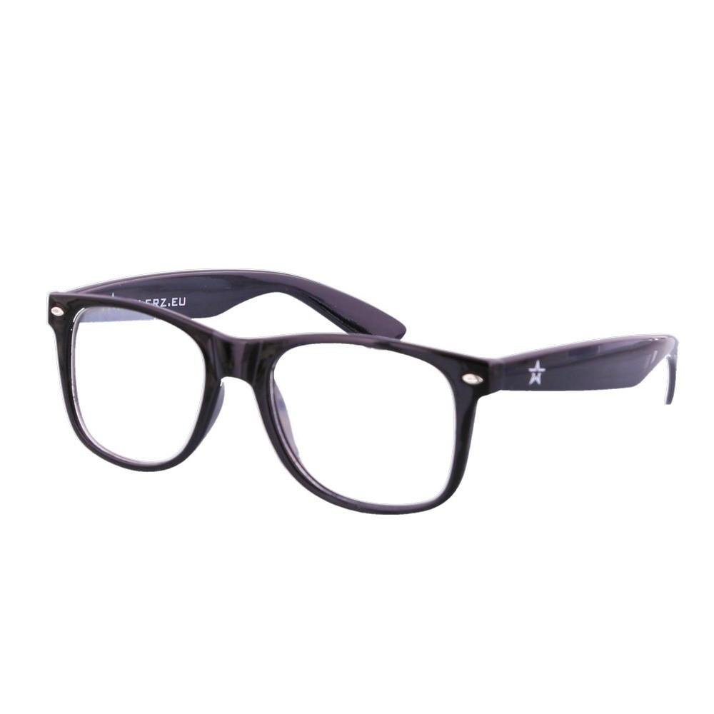 Nerdbril zwart