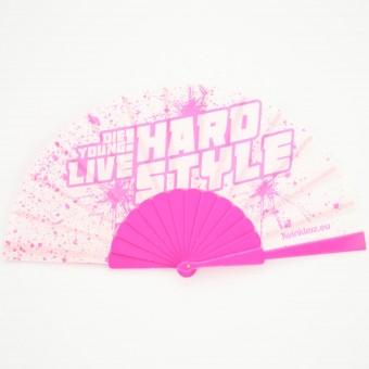 Hardstyle waaier roze
