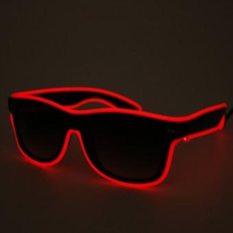 LED bril rood