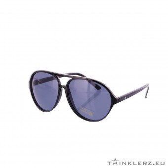 Twinklerz party festival zonnebril aviator zwart