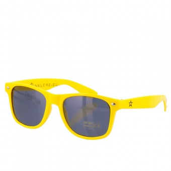 Twinklerz party festival zonnebril geel