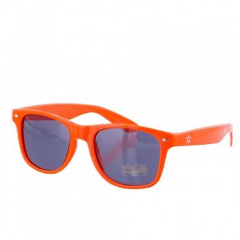 Party festival zonnebril oranje