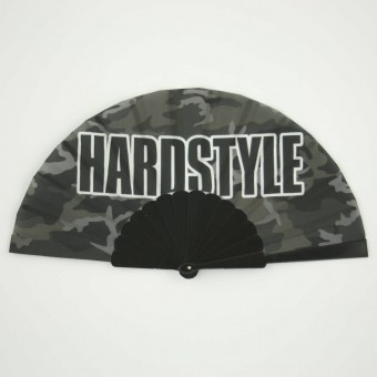 Hardstyle waaier camo zwart