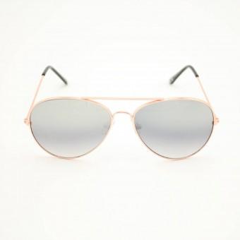 Piloten zonnebril goud - getinte glazen