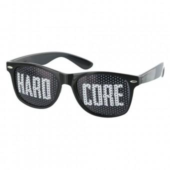 Pinhole zonnebril hardcore zwart