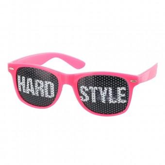 Pinhole zonnebril hardstyle roze