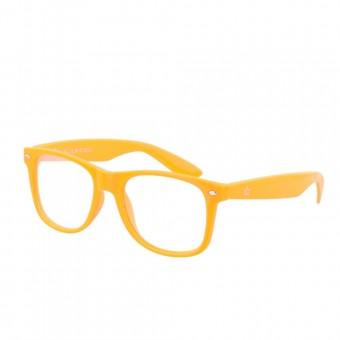 Spacebril licht oranje
