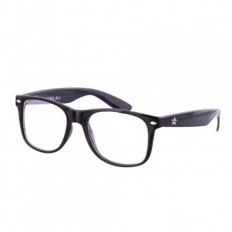 Spacebril zwart
