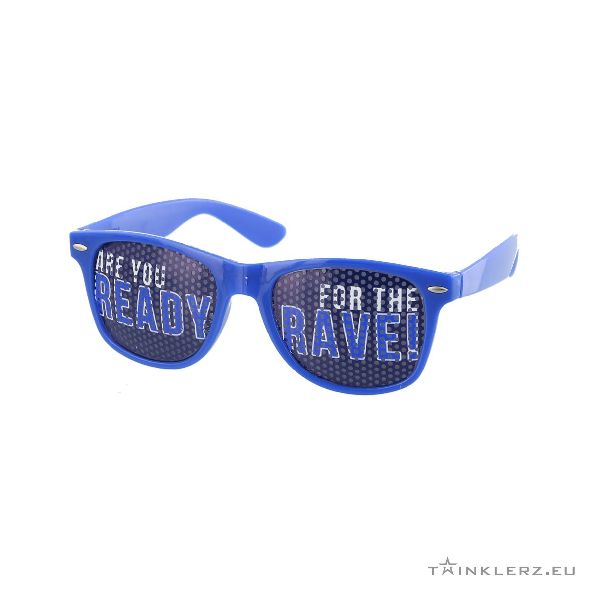 A-lusion pinhole sunglasses blue - Are you ready for the Rave!