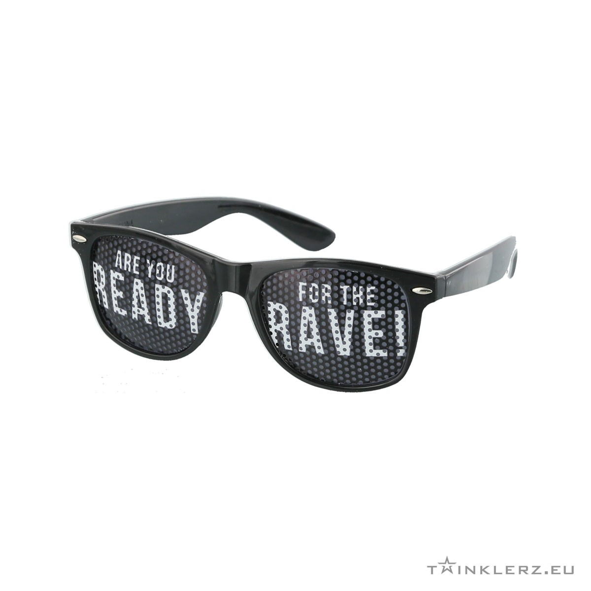 A-lusion pinhole sunglasses black - Are you ready for the Rave!