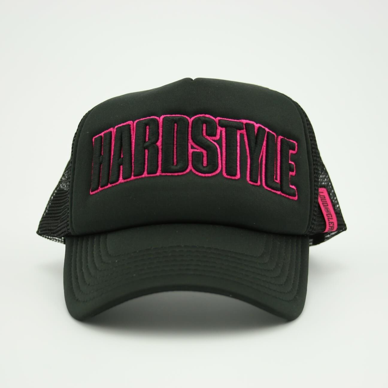 Hardstyle cap trucker pink front
