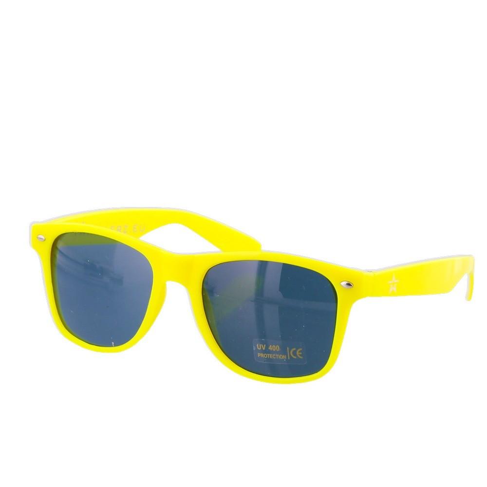 Twinklerz party festival zonnebril neon geel