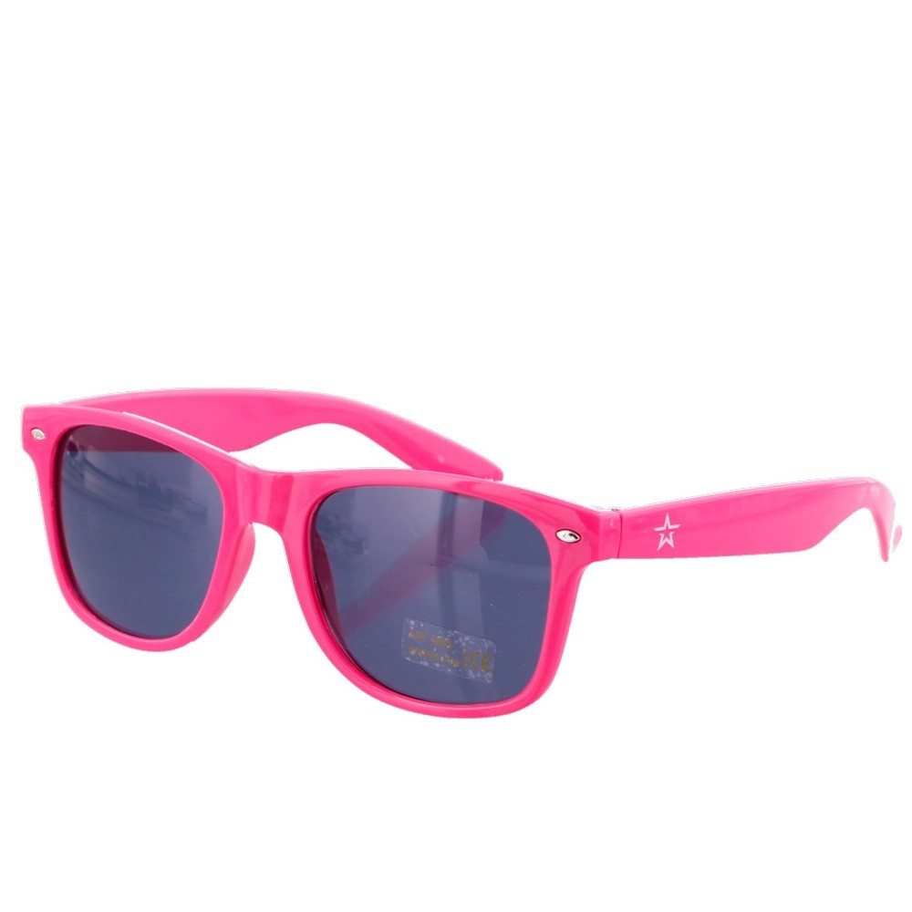 Neon Pink Party Sunglasses