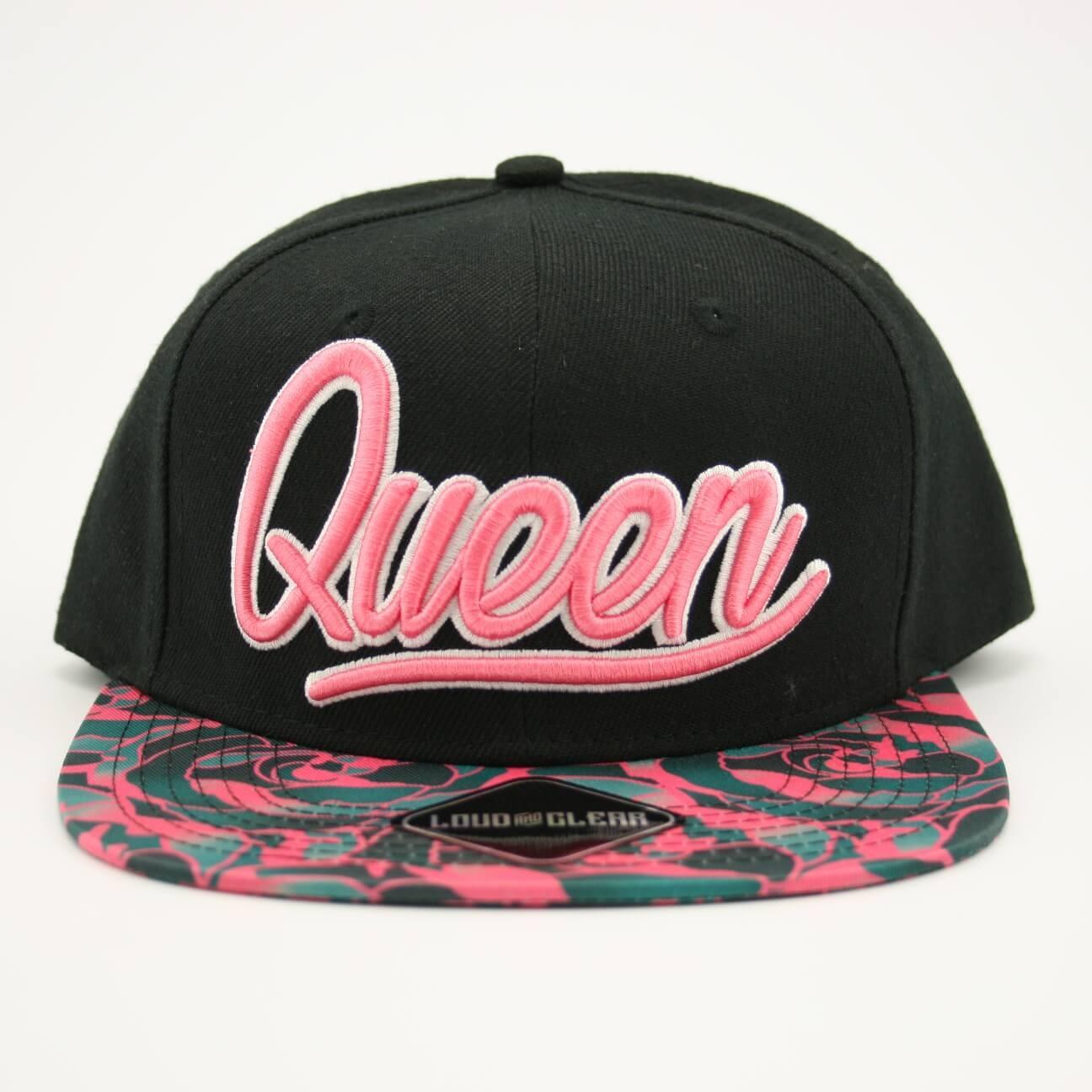 Queen cap front