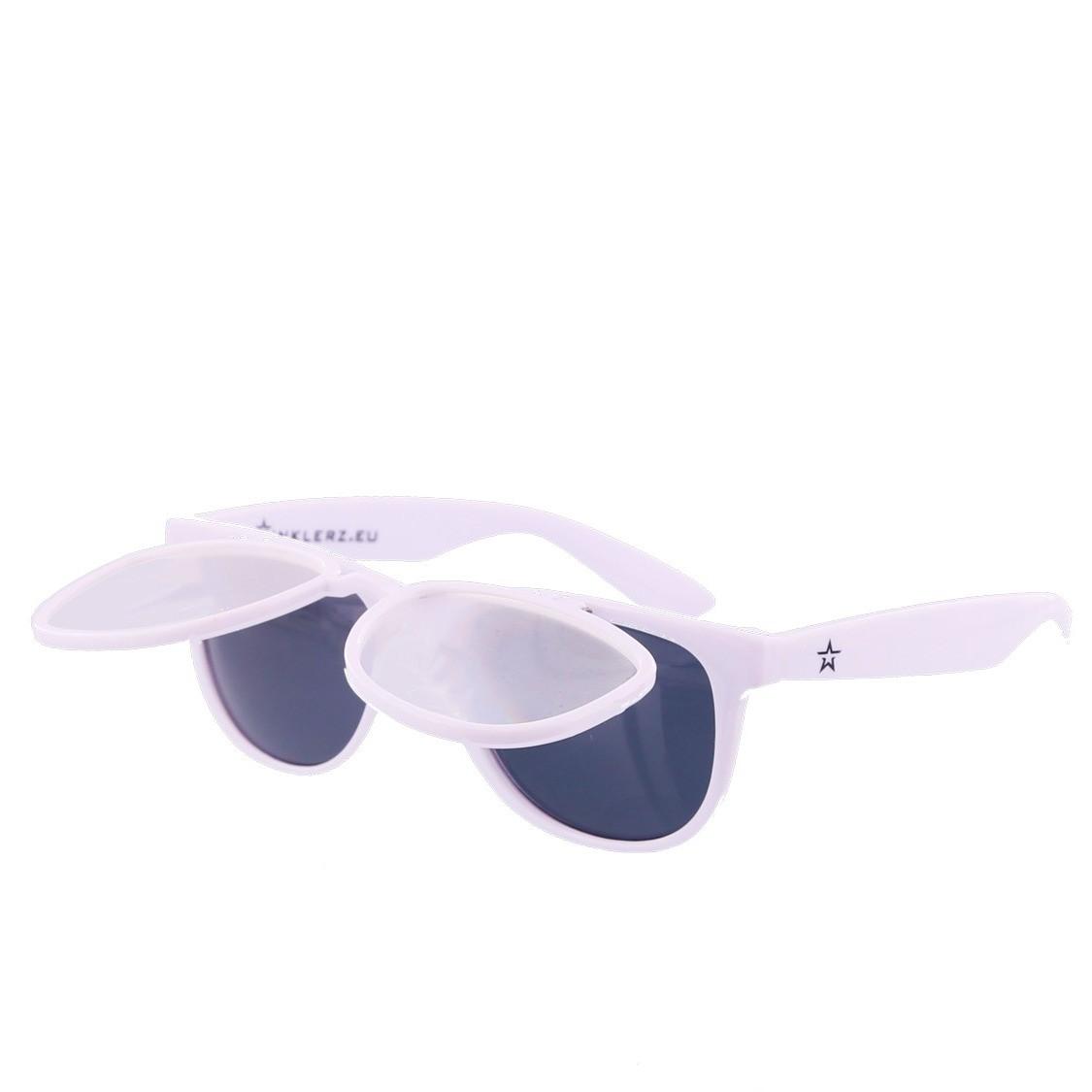 Twinklerz space zonnebril wit