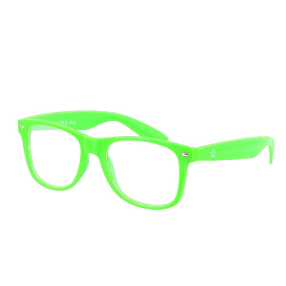 Twinklerz spacebril lichtgroen