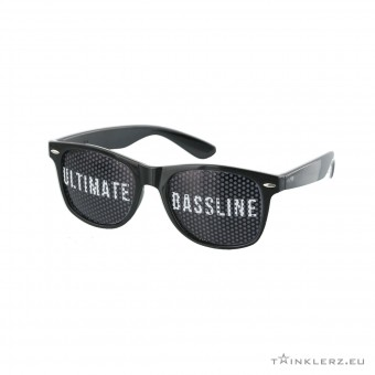 A-lusion pinhole zonnebril zwart - The Ultimate Bassline