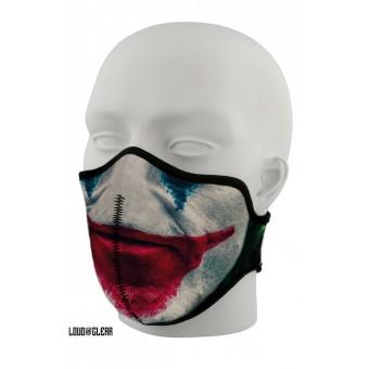 Joker Mondkapje Mondmasker Gezichtsmasker Wasbaar Met Print - Zwart