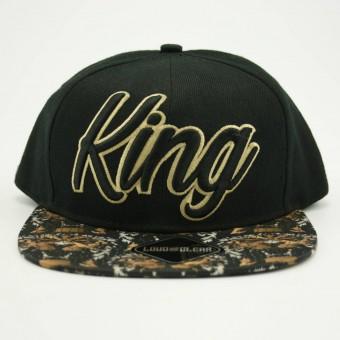 King cap front