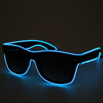 LED Neon Glasses Blue