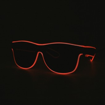 Orange LED Glasses