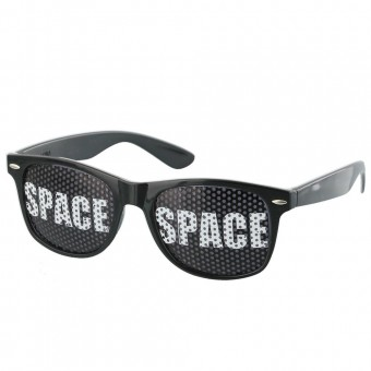 Black Space Pinhole Sunglasses