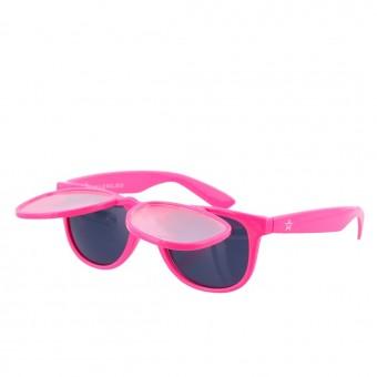 Twinklerz Space zonnebril lichtroze
