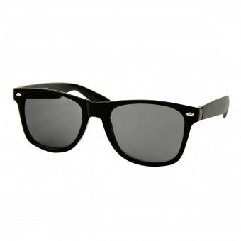 Wayfarer Zonnebril Zwart - Donker Getint Glas
